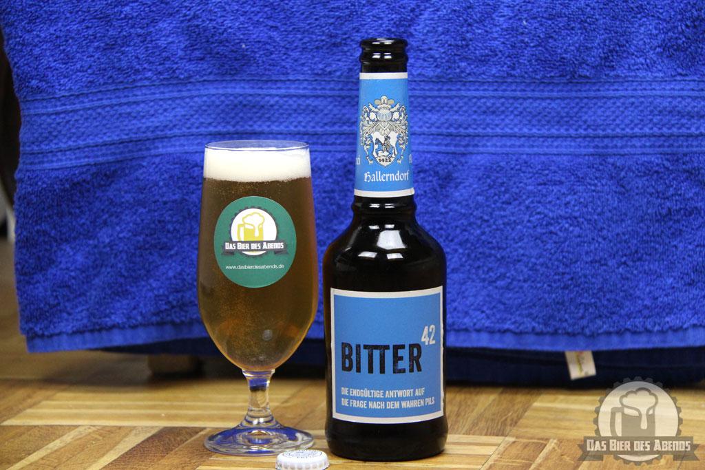 Zweiundvierzig, Bitter 42, Rittmayer, Hallerndorf, Bier, Biertest, Test