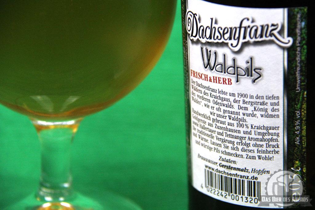 dachsenfranz, bier, waldpils, pils, dachs, kraichgau, odenwald
