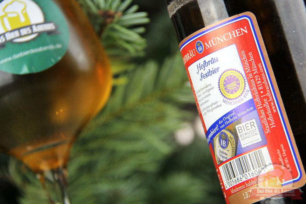 Hofbräu, Festbier, Märzen, Weihnachten, Heiligabend, Weihnachtsbier, München, Hofbräuhaus