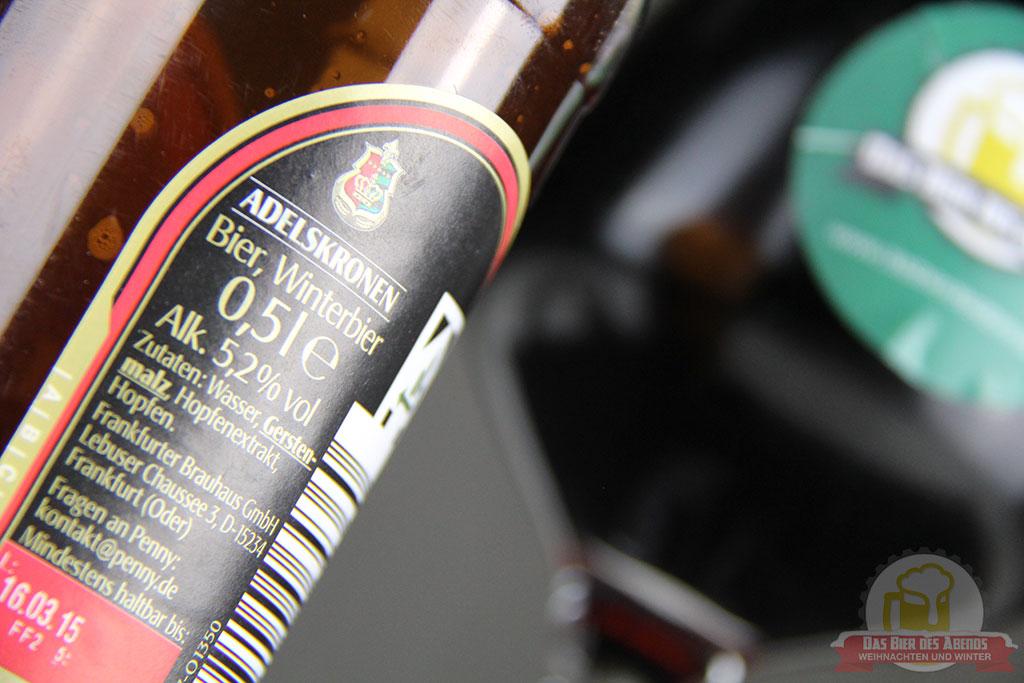 adelskrone, adelskronen, winterbier, weihnachtsbier, weihnachten, winter, bier, test, biertest, penny, rewe, frankfurt