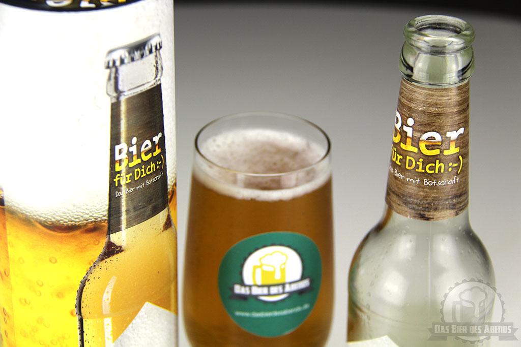 geschenk für dich, bier, biertest, test, la vida, baunatal, knallhütte, hüttbrauerei, präsent, gift