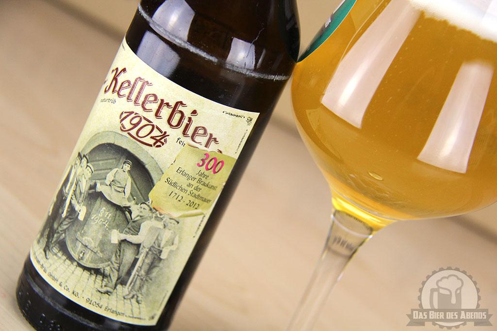 kitzmann, kellerbier, 1904, neunzehnhundertvier, kitzmann-bräu, erlangen, bier, test, biertest, bewertung