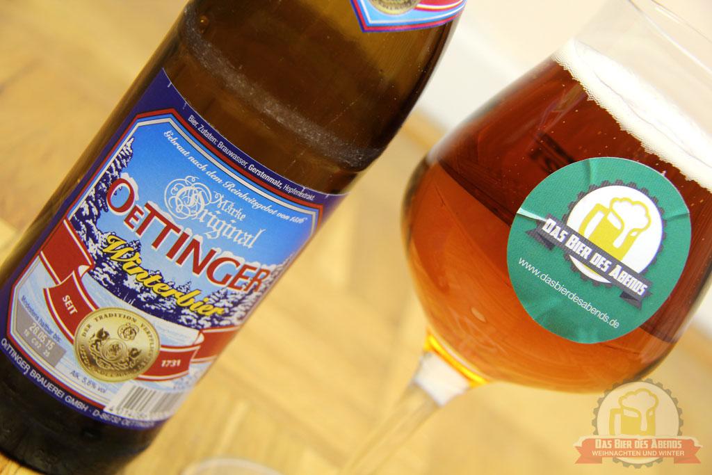 oettinger, öttinger, winterbier, bier, biertest, weihnachten, winter, pennerbier