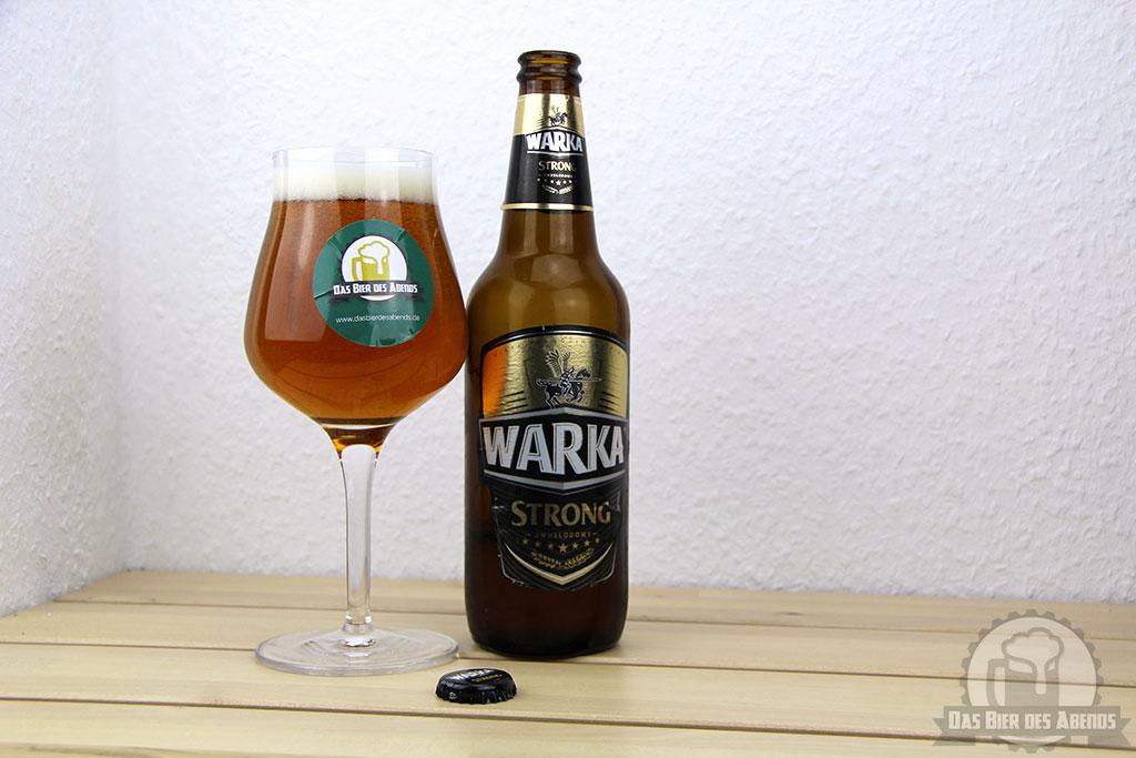 warka, strong, dwuslodowy, bier, test, biertest, heineken, starkbier, polen, polnisch