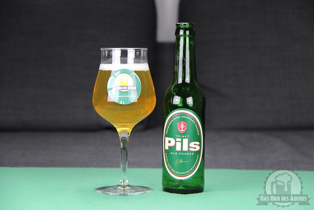 hofmann, pils, pahres, privatbrauerei, trinkt pils aus pahres, bier, test, biertest, kaufen