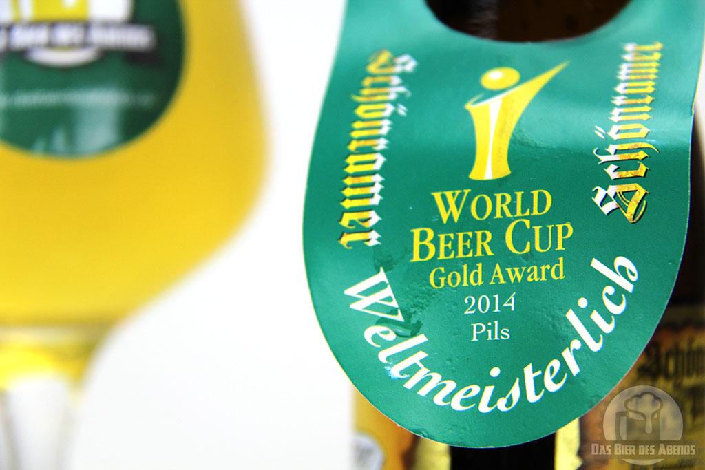 schönramer, schonramer, schoenramer, pils, bier, test, biertest, weltbestes, world beer cup, gold award