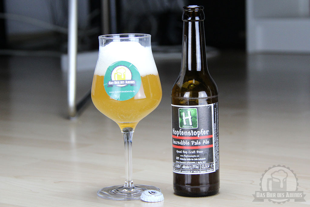 hopfenstopfer, incredible, pale, ale, bad rappenau, häffner bräu, ipa, india pale ale