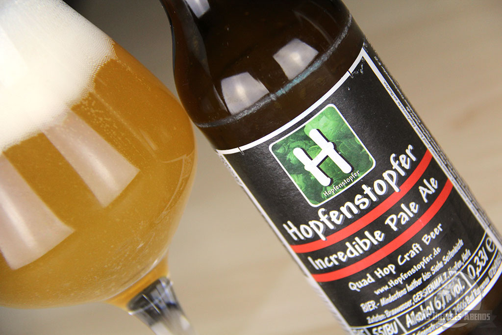 hopfenstopfer, incredible, pale, ale, india, häffner, bad rappenau, craft beer, hopfen