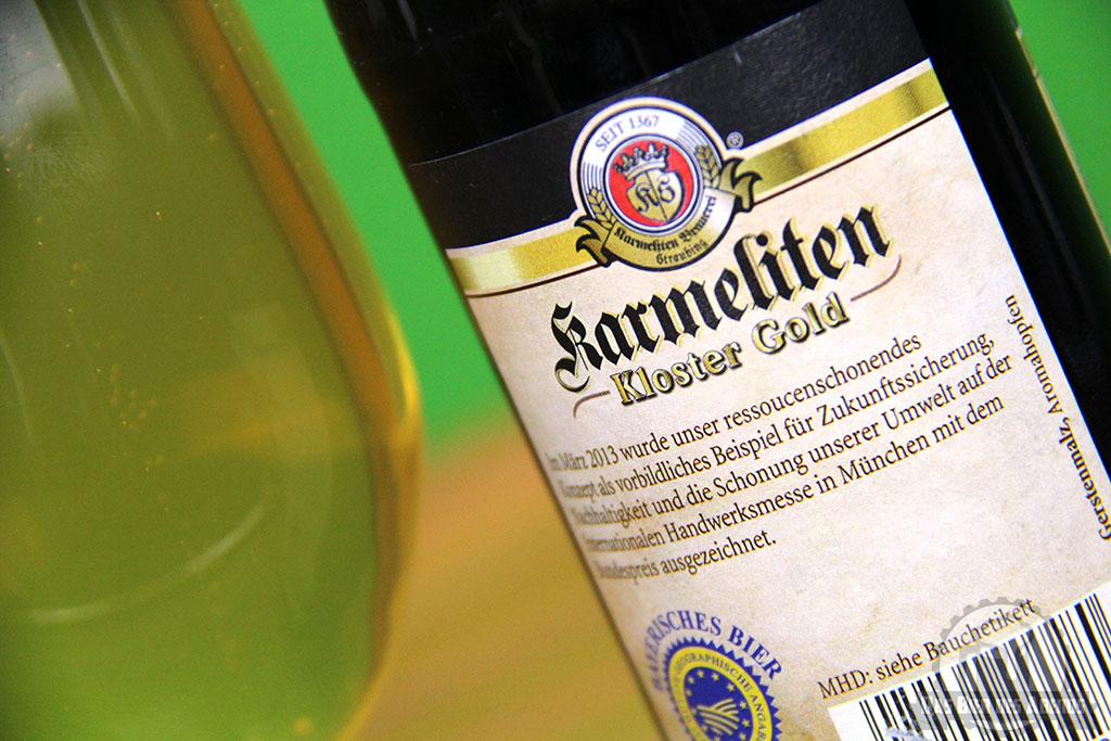 karmeliten, kloster, gold, karl sturm, straubing, export, exportbier, bier, test, biertest