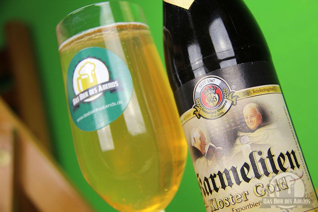 karmeliten, kloster, gold, karl sturm, straubing, bier, test, biertest, bewertung, export, exportbier