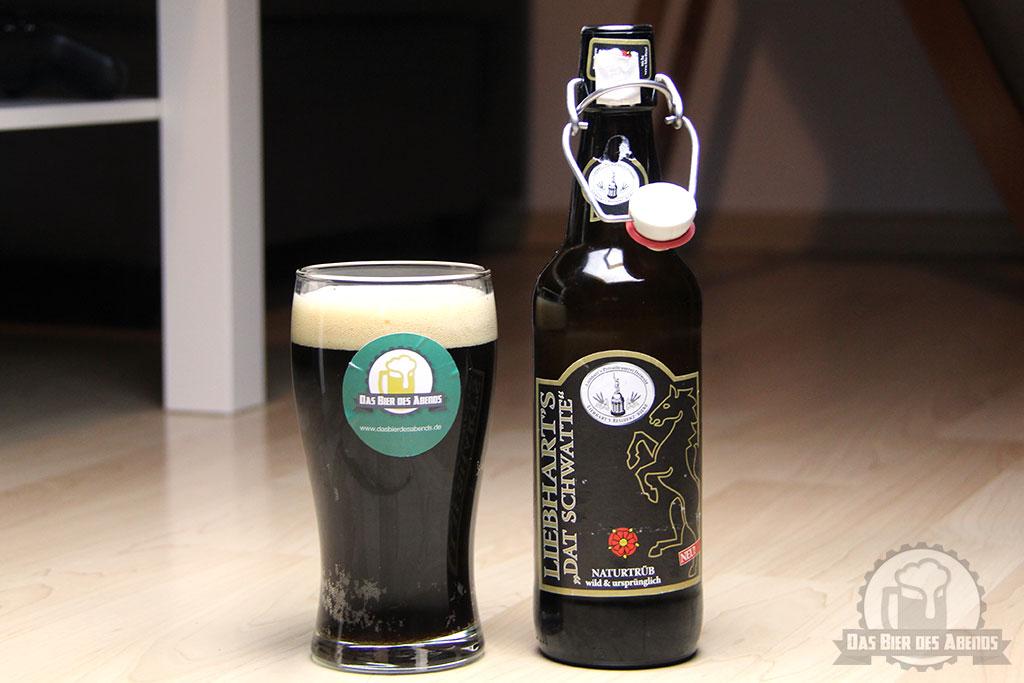 liebharts, liebhart's, dat schwatte, das schwarze, residenz, schwarzbier, bier, test, biertest, bewertung